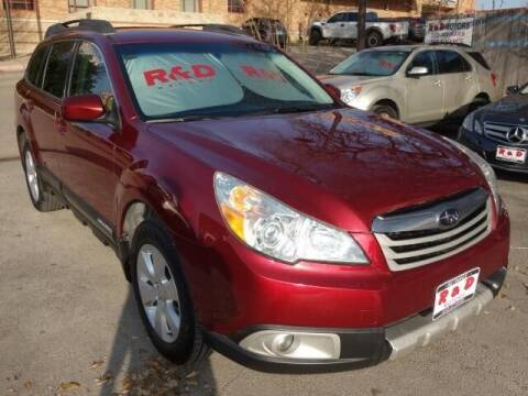 2011 Subaru Outback for sale at R & D Motors in Austin TX