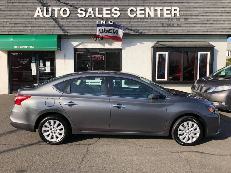 2019 Nissan Sentra for sale at Auto Sales Center Inc in Holyoke MA