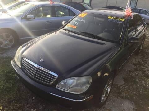 2000 Mercedes-Benz S-Class for sale at Castagna Auto Sales LLC in Saint Augustine FL