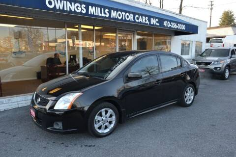 2012 Nissan Sentra for sale at Owings Mills Motor Cars in Owings Mills MD