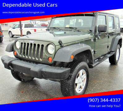 2007 Jeep Wrangler Unlimited for sale at Dependable Used Cars in Anchorage AK