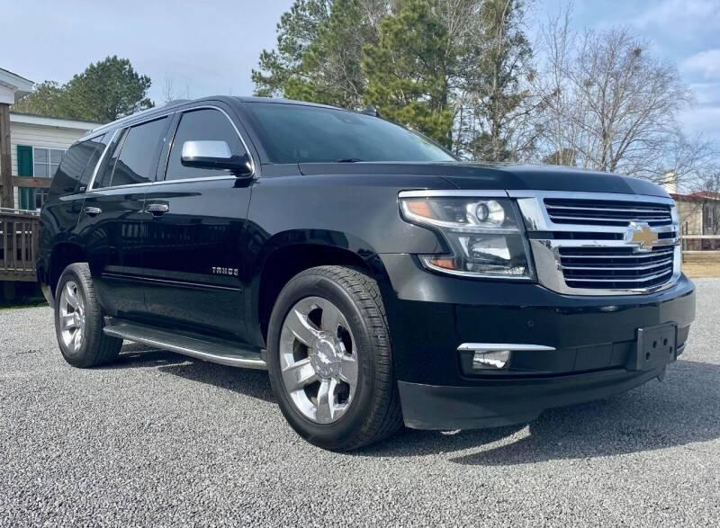 2015 Chevrolet Tahoe for sale at Real Deals of Florence, LLC in Effingham SC