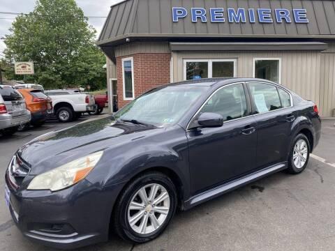 2010 Subaru Legacy for sale at Premiere Auto Sales in Washington PA