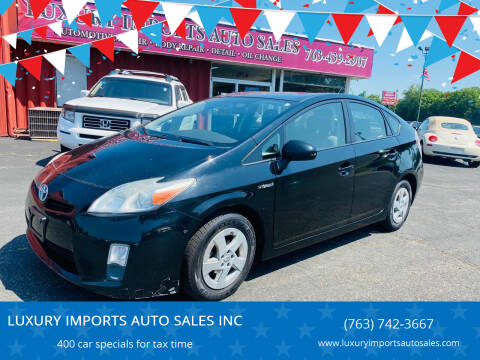 2010 Toyota Prius for sale at LUXURY IMPORTS AUTO SALES INC in North Branch MN