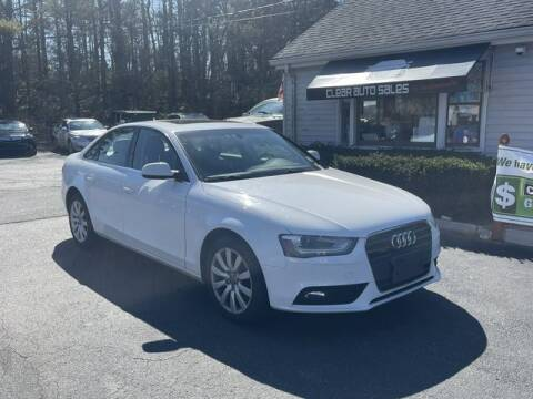 2013 Audi A4 for sale at Clear Auto Sales 2 in Dartmouth MA