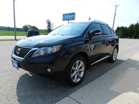 2010 Lexus RX 350 for sale at Leitheiser Car Company in West Bend WI