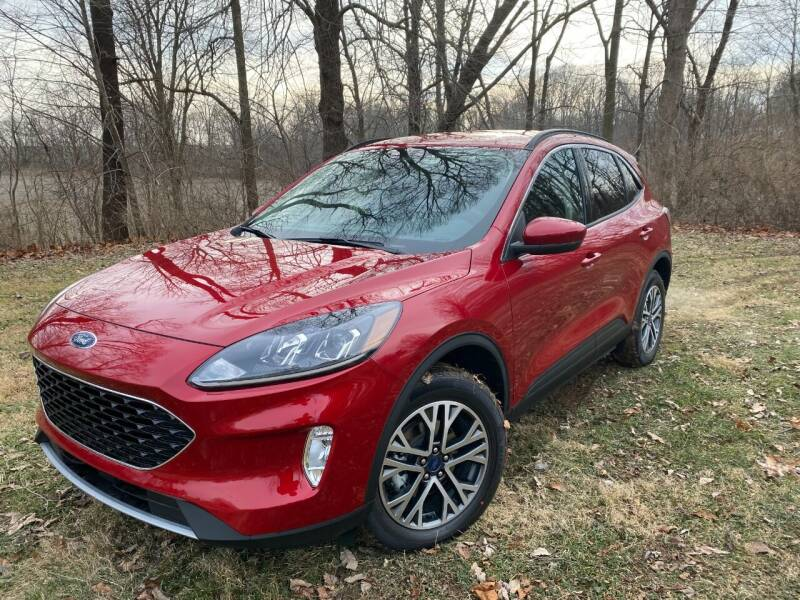 2020 Ford Escape for sale at Kenny Vice Ford Sales Inc - New Inventory in Ladoga IN