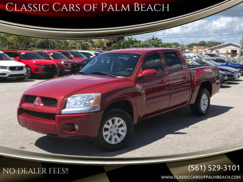 2006 Mitsubishi Raider for sale at Classic Cars of Palm Beach in Jupiter FL
