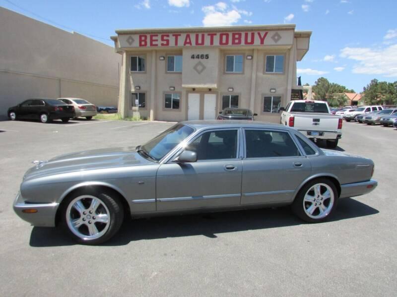 2002 Jaguar XJ-Series for sale at Best Auto Buy in Las Vegas NV