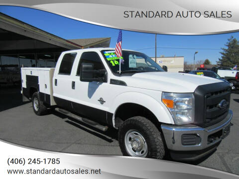 2014 Ford F-350 Super Duty for sale at Standard Auto Sales in Billings MT