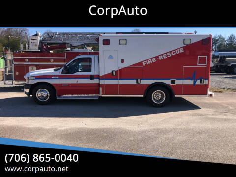 2007 Ford F-350 Super Duty for sale at CorpAuto in Cleveland GA