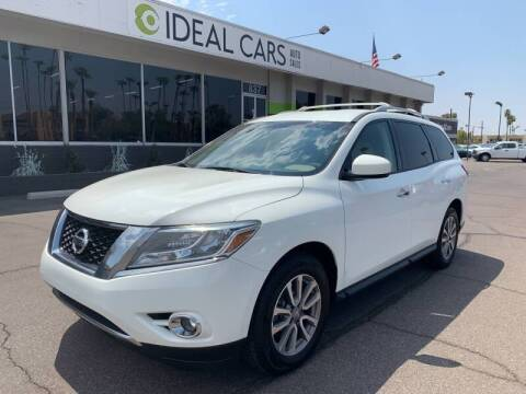 2015 Nissan Pathfinder for sale at Ideal Cars Apache Junction in Apache Junction AZ