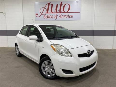 2010 Toyota Yaris for sale at Auto Sales & Service Wholesale in Indianapolis IN