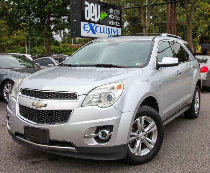 2012 Chevrolet Equinox for sale at EXCLUSIVE MOTORS in Virginia Beach VA