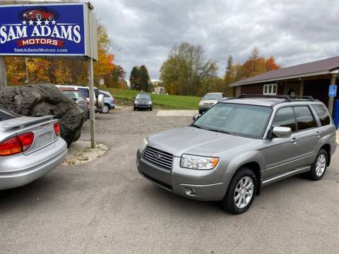 2007 Subaru Forester for sale at Sam Adams Motors in Cedar Springs MI