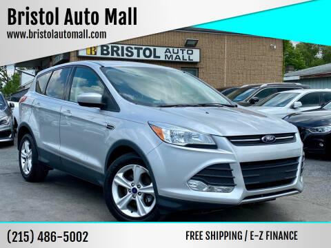 2016 Ford Escape for sale at Bristol Auto Mall in Levittown PA