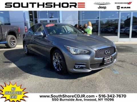 2017 Infiniti Q50 for sale at South Shore Chrysler Dodge Jeep Ram in Inwood NY