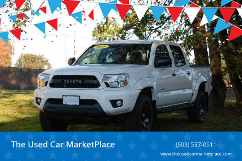 2015 Toyota Tacoma for sale at The Used Car MarketPlace in Newberg OR