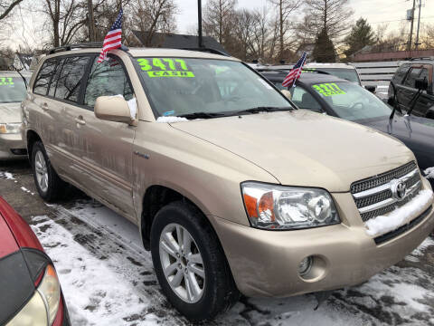 2007 Toyota Highlander Hybrid for sale at Klein on Vine in Cincinnati OH