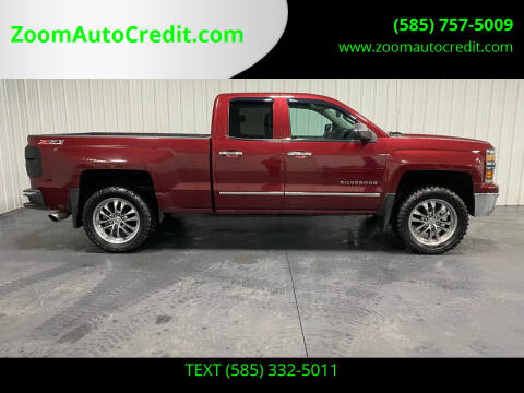 2014 Chevrolet Silverado 1500 for sale at ZoomAutoCredit.com in Elba NY