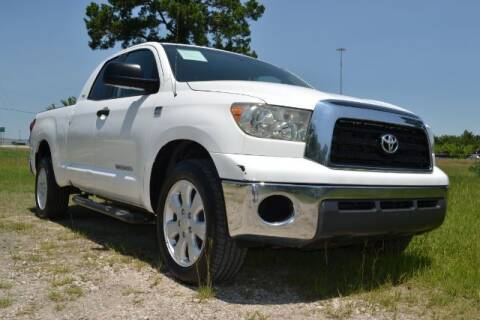 2007 Toyota Tundra for sale at WOODLAKE MOTORS in Conroe TX