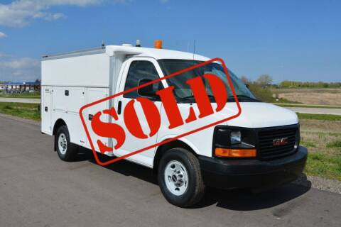 2008 GMC Savana Cutaway for sale at Signature Truck Center - Service-Utility Truck in Crystal Lake IL