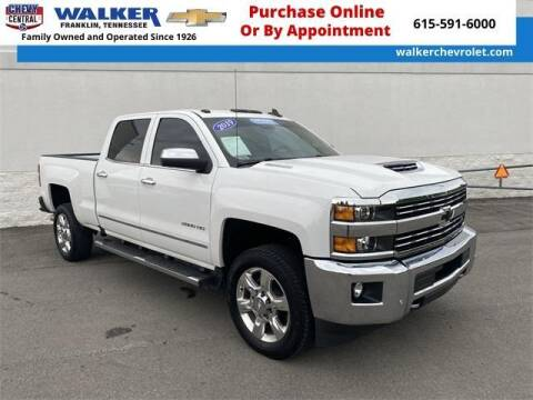 2019 Chevrolet Silverado 2500HD for sale at WALKER CHEVROLET in Franklin TN