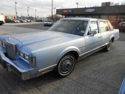 1987 Lincoln Town Car for sale at Black Tie Classics in Stratford NJ