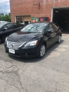 2014 Nissan Sentra for sale at BUCKLEY'S AUTO in Romney WV