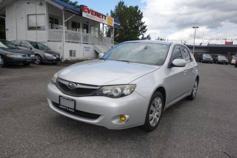 2010 Subaru Impreza for sale at Leavitt Auto Sales and Used Car City in Everett WA