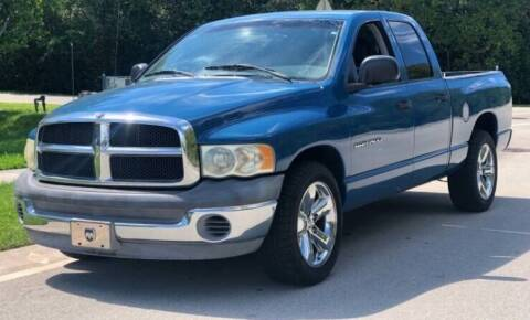 2002 Dodge Ram Pickup 1500 for sale at JacksonvilleMotorMall.com in Jacksonville FL