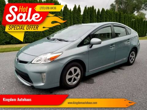 2012 Toyota Prius for sale at Kingdom Autohaus LLC in Landisville PA