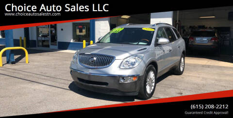 2009 Buick Enclave for sale at Choice Auto Sales LLC - Cash Inventory in White House TN