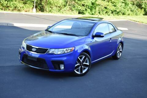 2010 Kia Forte Koup for sale at Alpha Motors in Knoxville TN