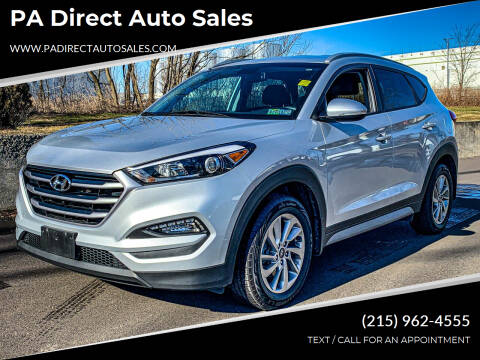 2017 Hyundai Tucson for sale at PA Direct Auto Sales in Levittown PA