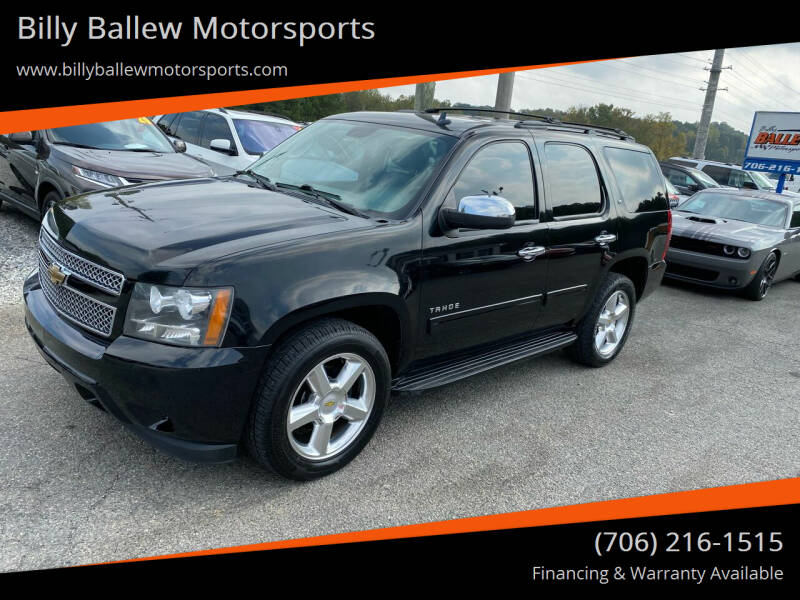 2011 Chevrolet Tahoe for sale at Billy Ballew Motorsports in Dawsonville GA