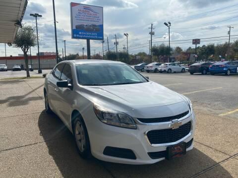 2015 Chevrolet Malibu for sale at Magic Auto Sales in Dallas TX