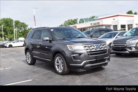 2019 Ford Explorer for sale at BOB ROHRMAN FORT WAYNE TOYOTA in Fort Wayne IN