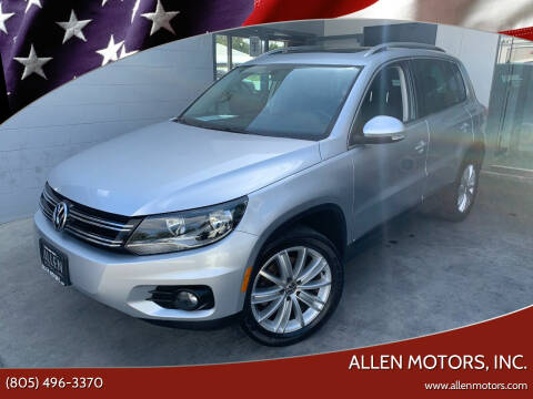 2012 Volkswagen Tiguan for sale at Allen Motors, Inc. in Thousand Oaks CA