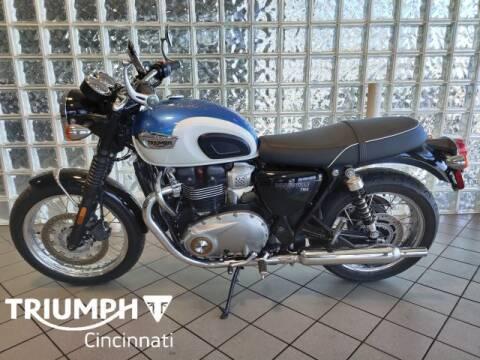 2017 Triumph Bonneville for sale at TRIUMPH CINCINNATI in Cincinnati OH