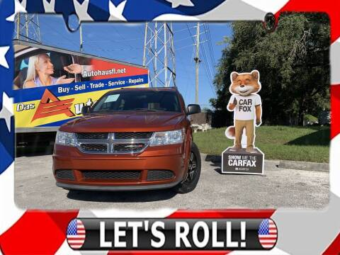 2014 Dodge Journey for sale at Das Autohaus Quality Used Cars in Clearwater FL