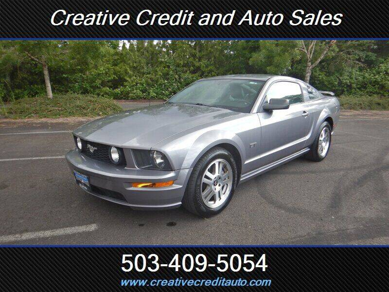 2006 Ford Mustang for sale at Creative Credit & Auto Sales in Salem OR