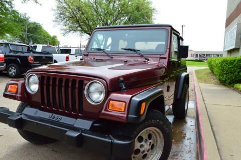 2002 Jeep Wrangler for sale at E-Auto Groups in Dallas TX