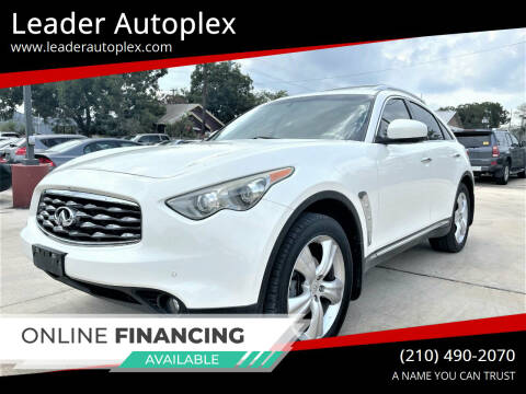 2011 Infiniti FX35 for sale at Leader Autoplex in San Antonio TX