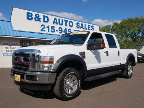 2008 Ford F-250 Super Duty for sale at B & D Auto Sales Inc. in Fairless Hills PA