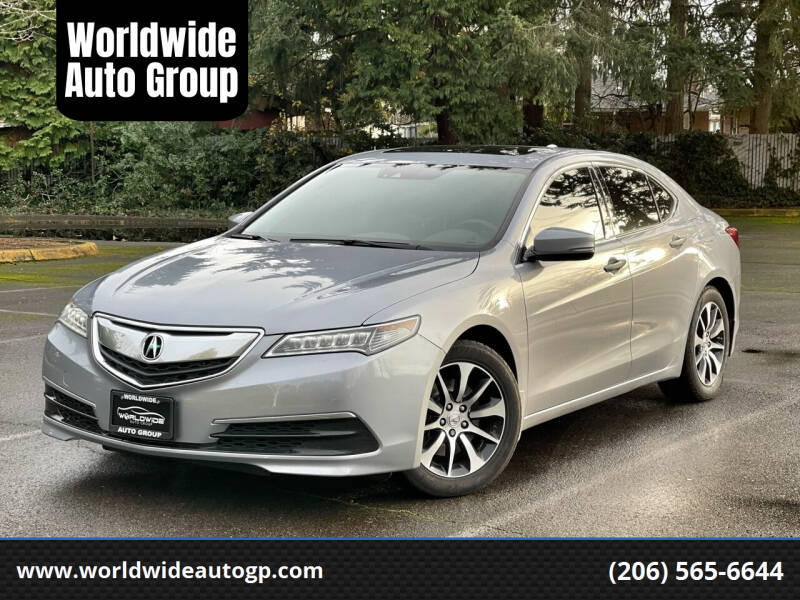 2015 Acura TLX for sale at Worldwide Auto Group in Auburn WA