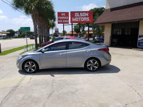 2015 Hyundai Elantra for sale at Olson Motors LLC in Saint Augustine FL