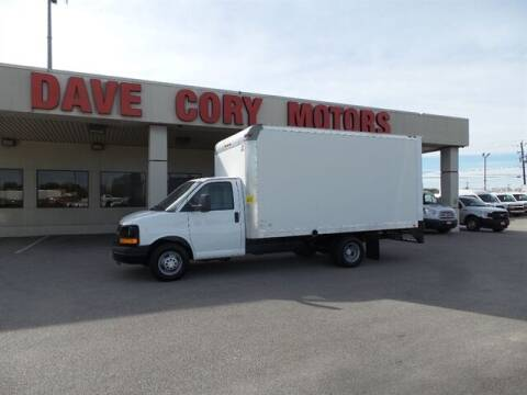 2015 Chevrolet Express Cutaway for sale at DAVE CORY MOTORS in Houston TX