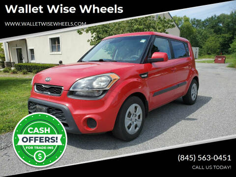 2013 Kia Soul for sale at Wallet Wise Wheels in Montgomery NY