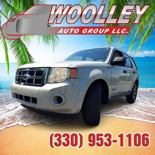 2008 Ford Escape for sale at Woolley Auto Group LLC in Poland OH